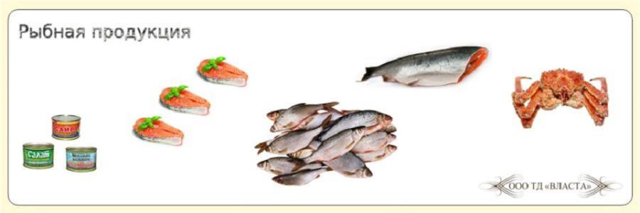 Рыбная продукция ООО ТД Власта